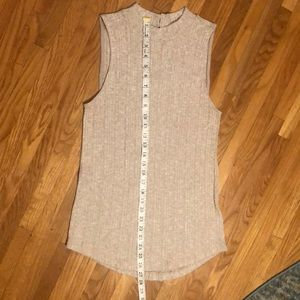Anthropologie Tops - Anthropologie butter soft ribbed mock neck top szS